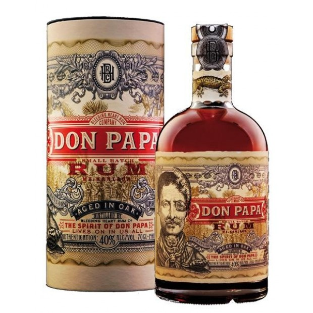 Don Papa Small Batch Rum, 40%
