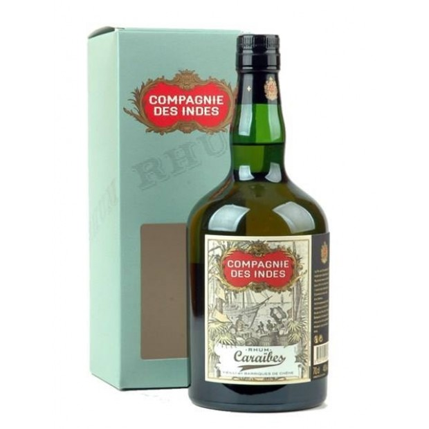 Compagnie des Indes Caraibes 40% 70 cl. - Rom fra Caribien