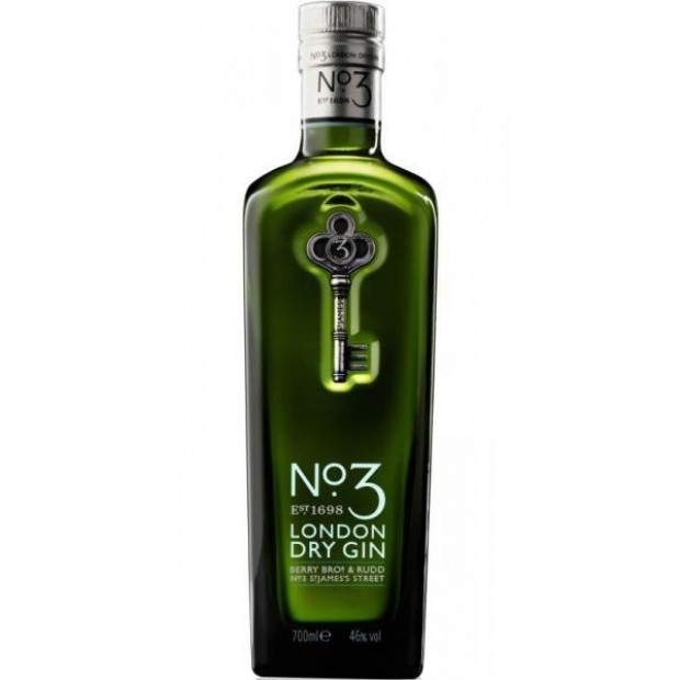 No. 3 London Dry Gin, 46% 70 cl.