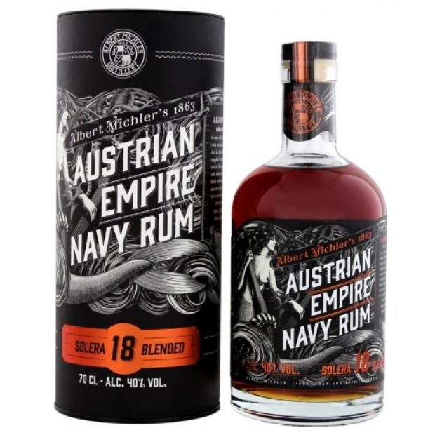 Austrian Empire Navy Rum 18 Years Solera 40%