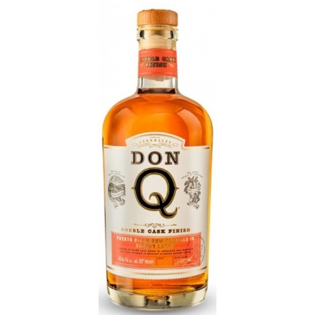Don Q Double Cask Sherry Finish 41% Puerto Rican Rum