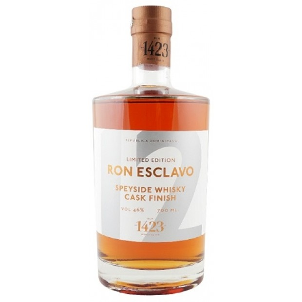 Ron Esclavo 12 Speyside Whisky Cask Finish. 46%