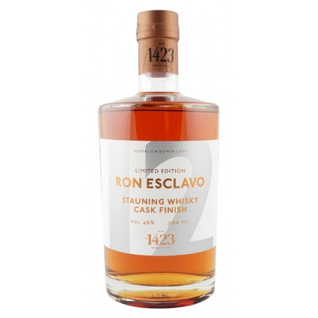 Ron Esclavo 12 Stauning Whisky Cask Finish. 46%
