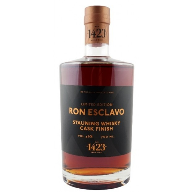Ron Esclavo XO Stauning Whisky Cask Finish. Limited Edition. 46%