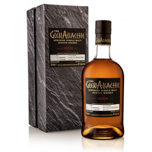 GlenAllachie 2006, 13 år. Cask No. 1395 Virgin Oak. 60,7%