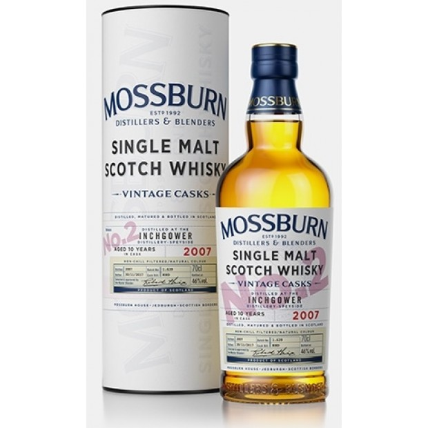 Inchgower 10 Years Whisky 46%, Mossburn Single Malt