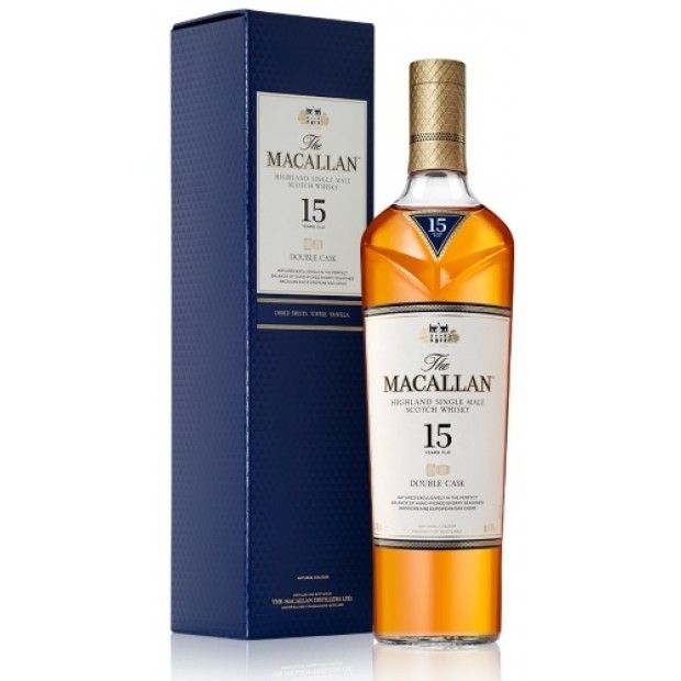 MacAllan 15 år Double Cask Whisky, 43%