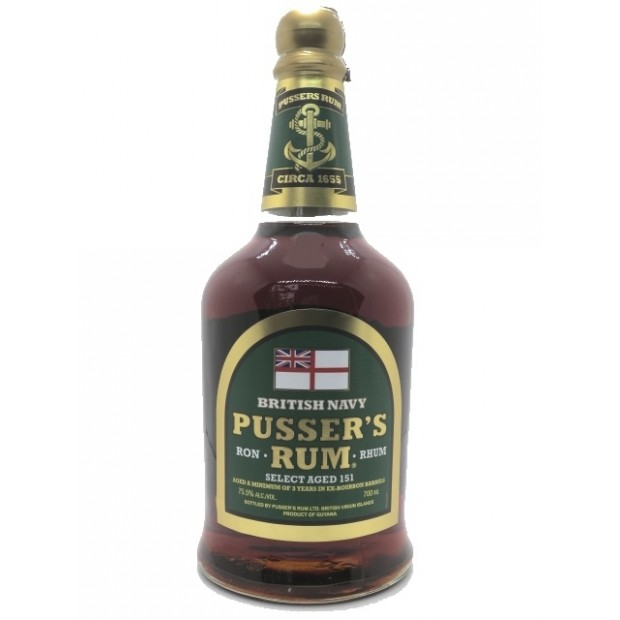 Pusser's Selected Ages 151 British Navy Rom 75,5%