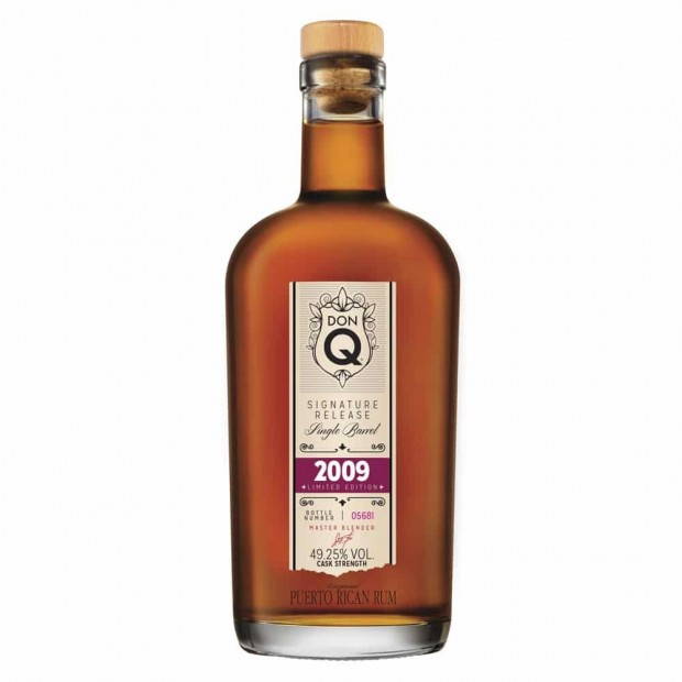 Don Q Rom Signature Release Single Barrel 2009 Limited Edition 49,25%