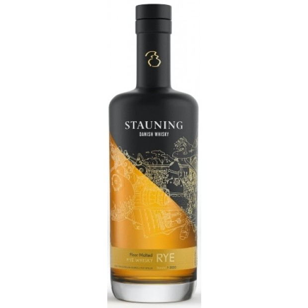 Stauning Rye Whisky - 70 cl.