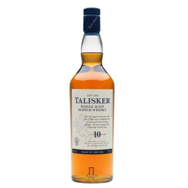 Talisker 10 Years Single Malt Whisky. 45,8%