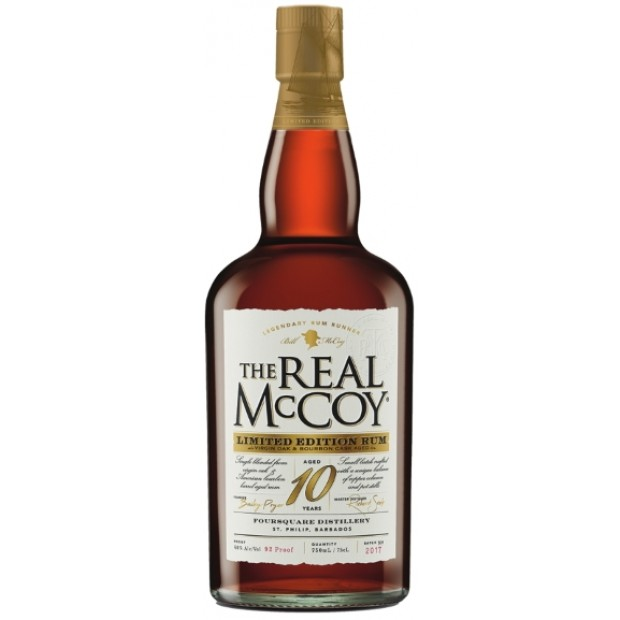 The Real McCoy 10 år Limited Edition Rum 2017. 46%