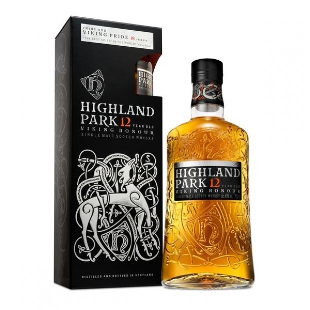 Highland Park 12 Years Whisky 70 cl. + gratis 5 cl. 18 Years