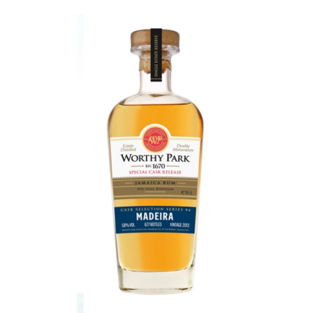 Worthy Park Madeira Special Cask Release. 58%, 70 cl.