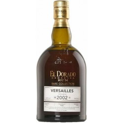El Dorado Rare Collection Versailles 2002, 63% 70 cl. Rom fra Guyana-20