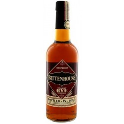 Rittenhouse Straight Rye Whiskey 100 Proof 50% 75 cl.-20