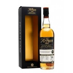 The Arran Malt 14 år 56,3% Arran Private Cask 100 70 cl. Sinlge Island Malt-20