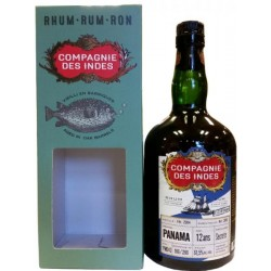 Compagnie des Indes Single Cask Panama 12 år, 61,5% Bottled for Vinkyperen-20