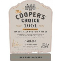 The Coopers Choice Caol Ila 1991-2016 25 år 46% 70 cl.-20