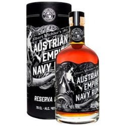 Austrian Empire Navy Rum, Reserva 1863. 40%, 70 cl.-20
