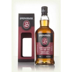 Springbank 12 år Cask Strength 56,5% 70 cl.-20