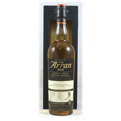 The Arran Malt Private Cask 821, 9 years. 58,2%, 70 cl.-20