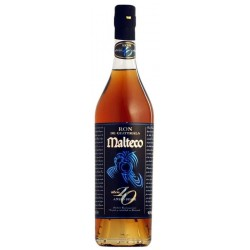 Ron Malteco 10 Years Old Anejo Suave 40,5% 70 cl.-20