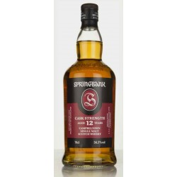 Springbank 12 Years Old Cask Strength Batch 16 56,3% 70 cl.-20