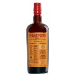 Hampden Estate 7 år. LMandV. Overproof 60%, 70 cl.-20