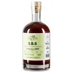 S.B.S Jamaica Monymusk 2007, 11 år. 59%. Single Barrel Selection-20