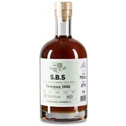 SBS Trinidad 2008, 10 år. 57%, 70 cl. Single Barrel Selection-20