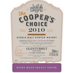 Glenturret Ruadh Maor Heavily Peated. 57,5%, 70 cl. Coopers Choice-20
