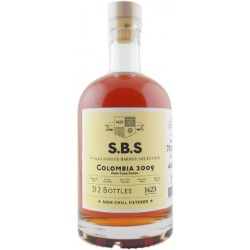 S.B.S Colombia 2009 Port Cask Finish. 46%, 70 cl. Single Barrel Selection-20