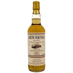 Ben Nevis 16 år Single Malt Whisky, Rum Cask Finish. 54,5%, 70 cl.-20