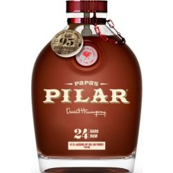 Papas Pilar Rum, Bourbon Finish Limited Edition. 43%, 70 cl.-20