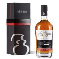 Stauning Rye, Rum Cask Finish. 50 cl. 46,5%-20