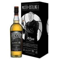 Arran 12 år Master of Distilling II. 51,8%-20