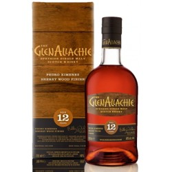 GlenAllachie 12 år, PX Wood Finish. 48%-20
