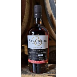 Stauning Port Smoke, Cask Strength 61,9%. Dansk Single Malt Whisky-20