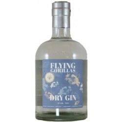 Flying Gorillas Dry Gin. 41%
